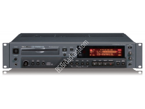 TASCAM CD-RW901 SL Professional CD player recorder..
