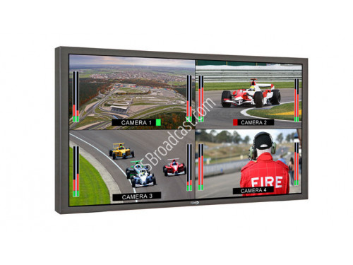 "17"" Single/Quad TFT Display High Definition Broadcast Monitor HD .."