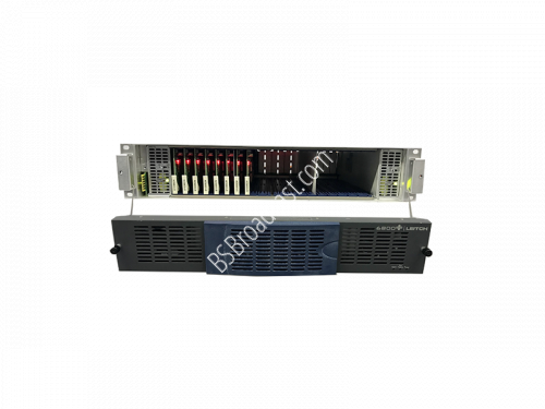 Leitch FR6800+ Frame 2RU, Ethernet resource card, all blanks with..