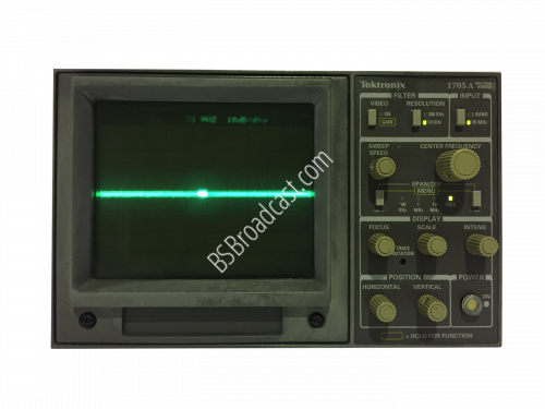 TEKTRONIX 1705A Spectrum Monitor..