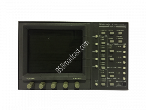 TEKTRONIX 1741A PAL Waveform/Vector Monitor..