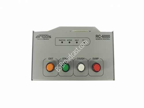 AirTools RC-6000 Remote Control for 6000 and 6100 Broadcast Audio..