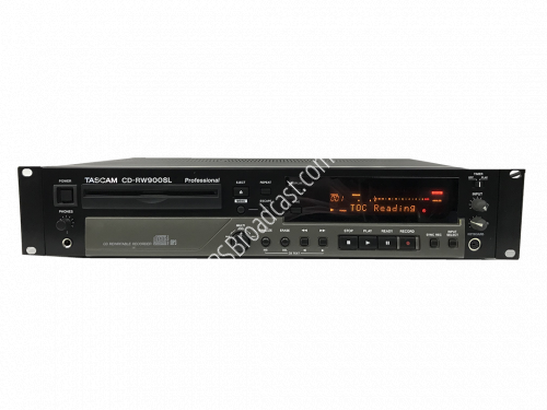 TASCAM CD-RW900SL CD Rewritable Recorder MP3..