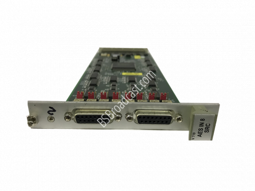 V719 AES/SRC INPUT CARD 8-CH with integrated sample-rate converte..