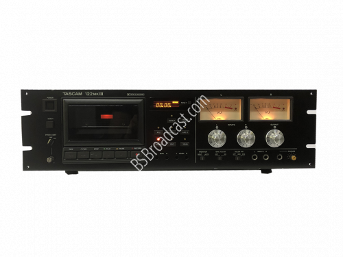 TASCAM 3 head professional cassette deck With XLR Balanced 122mkI..
