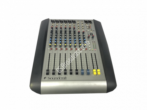 Soundcraft Spirit E6 audio mixer..