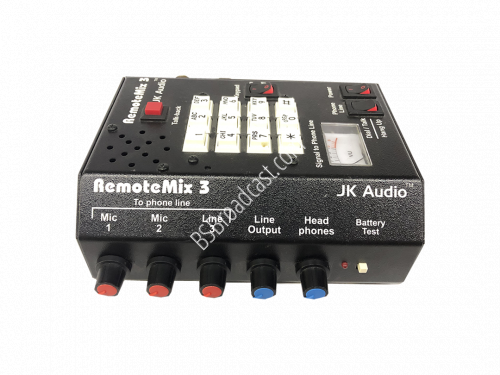 JK Audio RemoteMix 3 Remote Portable Phone Hybrid..