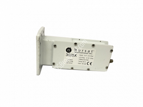 Norsat C-Band PLL LNB 3.400 - 4.200 GHz 10Mhz ext