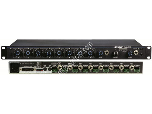 SHURE 8-Channel Automatic Mixer Rack mounted IRU..