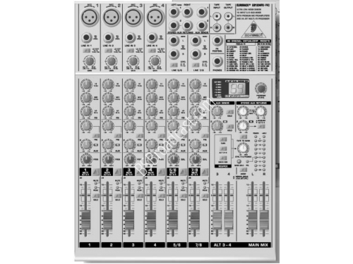 Behringer Audio mixer 12-Input 2/2-Bus Mixer with Premium Mic Pre..