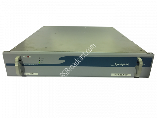 Module Media System 2 RU frame with 8 slots for generic module ho..