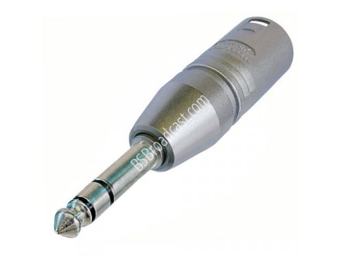 Neutrik NA3MP 3-pole XLR male - stereo 1/4