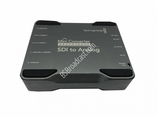 Blackmagic Design Mini Converter Heavy Duty - SDI to Analog..