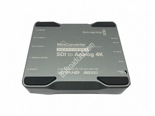 Blackmagic Design Mini Converter Heavy Duty - SDI to Analog 4K..