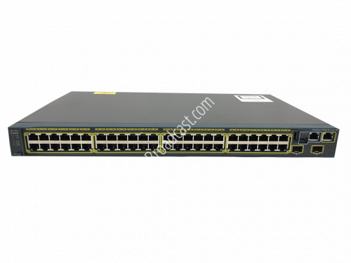 Cisco WS-C2960S-48TS-S 48 port x RJ-45 Ethernet Switch..