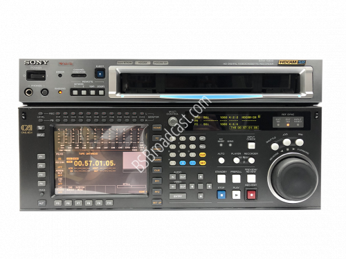 SONY SRW-5800 HDCAM SR HD digital video cassette recorder with HK..