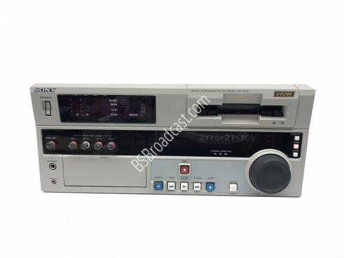 SONY DVCAM DSR-1800P Digital video cassette recorder..