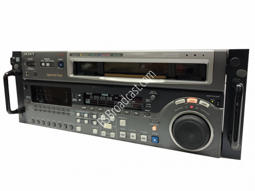 sony MSW-M2100P Digital Multi Player VTR Drum Hours 9400..