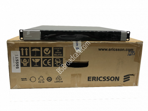 Ericsson RX8330 Distribution Receiver DVB S2/8PSK HD/SD 4:2:0 MPE..
