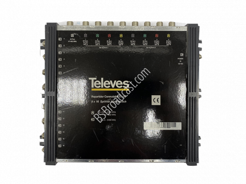televes Repartidor conmutable 9 x 16 9x 16 splitter multiswitch..