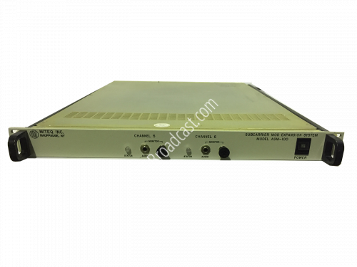 Miteq AUDIO SUBCARRIER MODULATOR EXPANSION SYSTEM ASM-100..