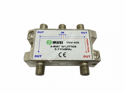 IKUSI 4-way Splitter 5-2300Mhz