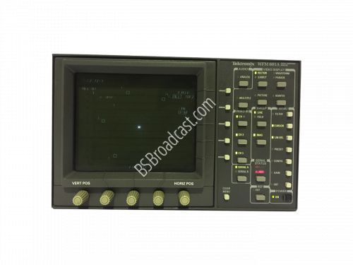 TEKTRONIX WFM601A Standard Definition Waveform Monitors..