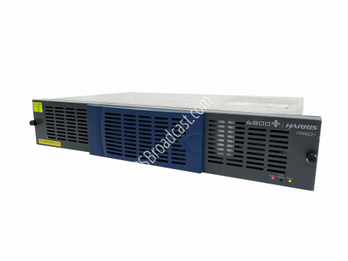 FR6822+F Frame 2RU no back all blanks with fan includes two 6800+..