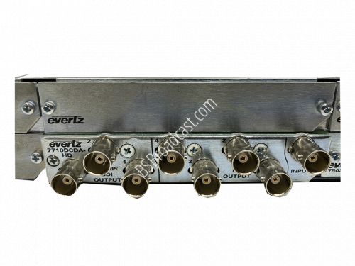 Evertz 7710DCDA-HD HD Down Converter & Distribution Amplifier..