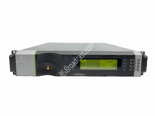 Ericsson EN8040 MPEG-2 SD MPEG-4 HD encoder with L-Band modulator..