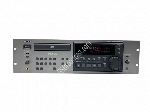 Sony CDP-D500 Professional CD Player..