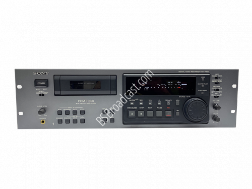 Sony PCM-R500 DAT Audio Recorder/Player..