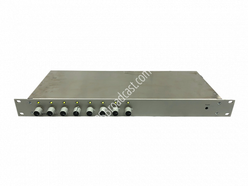 RTS IFB-828 8-channel ifb panel with volume controls..