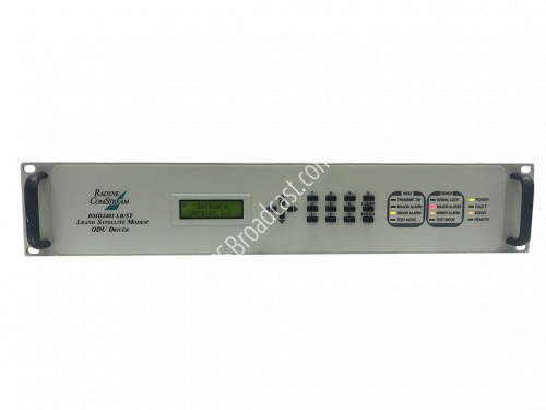 Radyne ComStream DMD2401 LBST L-Band Satellite Modem and ODU Driv..