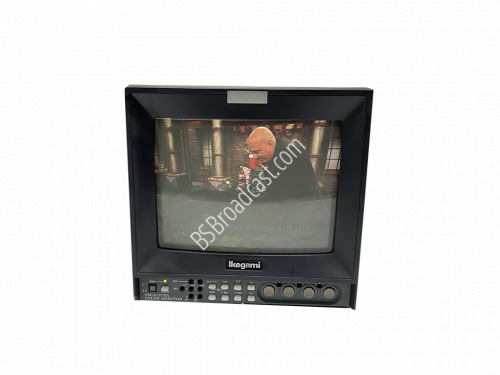 Ikegami TM10-17RA 10 inch Broadcast Color CTR Monitor for gaming..