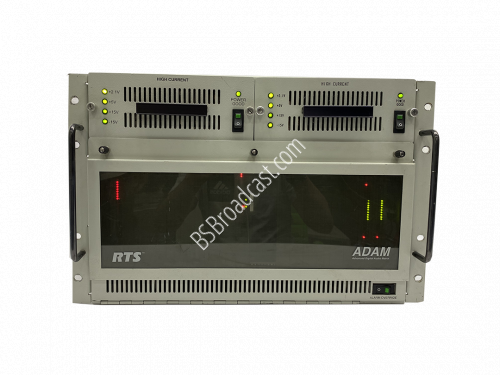 RTS ADAM intercom system Full-size modular matrix mainframe..