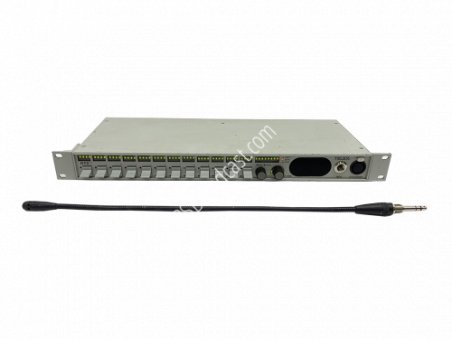 RTS Telex KP-12 Intercom Panel with MCP-90-18 microphone..