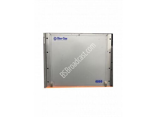 Clear-Com 4000 series 9RU chassis with (2) MPC-PDE4642B, (4) DMC-..