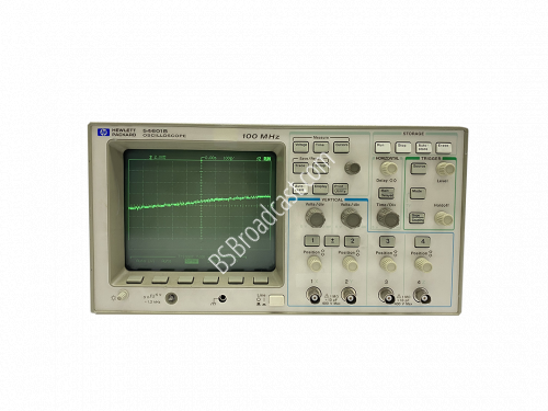 HP 54601B 4 channel 100 MHz oscilloscope with Agilent HP 54658A..