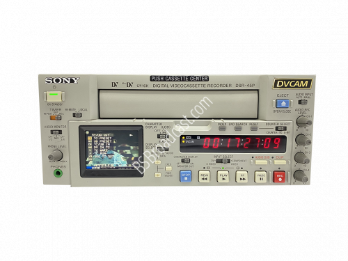 SONY DSR-45P DVCAM Recorder PAL Drum Hours 500..