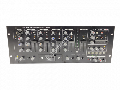 Tascam X-17 professional DJ Mixer with PS-P17x power..
