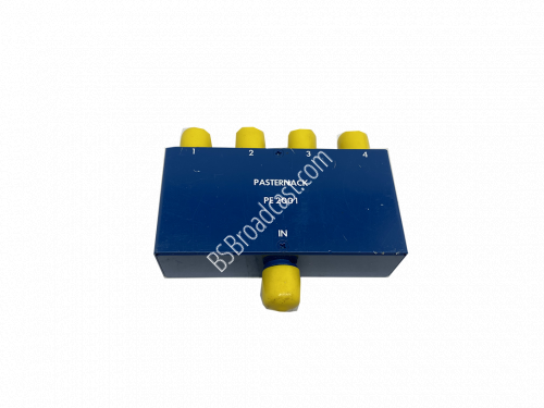 PASTERNACK PE2001 4 Way BNC Power Divider From 2 MHz to 500 MHz R..