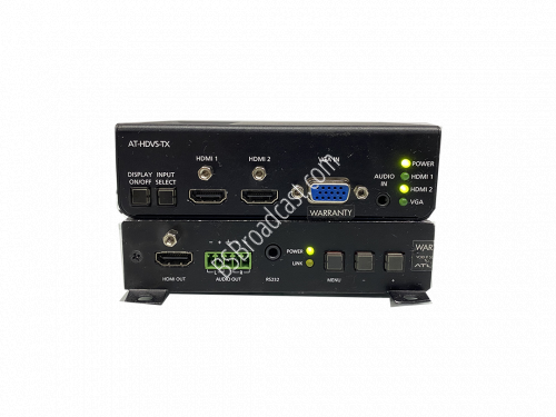 Atlona AT-HDVS-RX and AT-HDVS-TX HDBaseT to HDMI Scaler Receiver ..