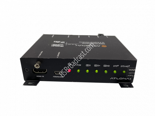 ATLONA AT-HD-M2c HDMI MULTI-CHANNEL TO 2CH AUDIO CONVERTER..