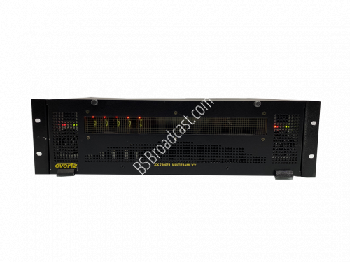 Evertz 7800FR MULTIFRAME with 2 7800PS POWER SUPPLIES..