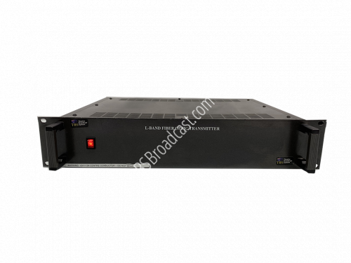 Theatre broadcast system l-band fiber optic transmitter..