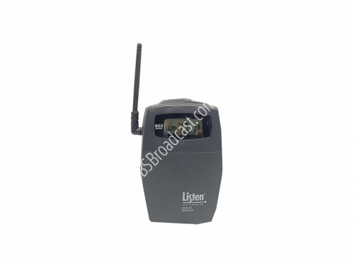 Listen Technologies LR-500-863 PORTABLE PROGRAMMABLE DISPLAY RF R..