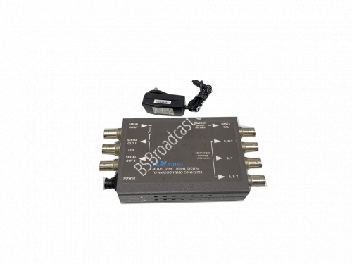 AJA D10C Serial Digital to Analog Video Converter with power adop..
