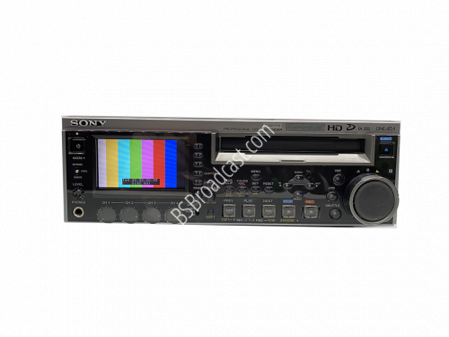 SONY PDW-F75 XDCAM HD Professional Disc recorder with multiple in..