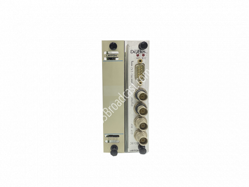 Leitch Digibus 3610CD with back module..